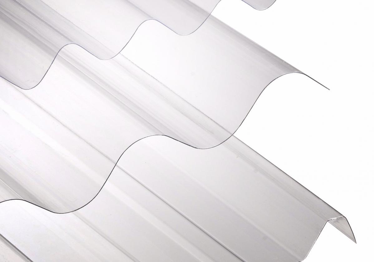 Onduplast PC is beschikbaar in verschillende profielen (Cristal)